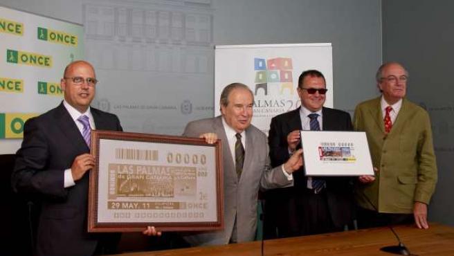 Saavedra Presenta Imagen Cupón De La ONCE