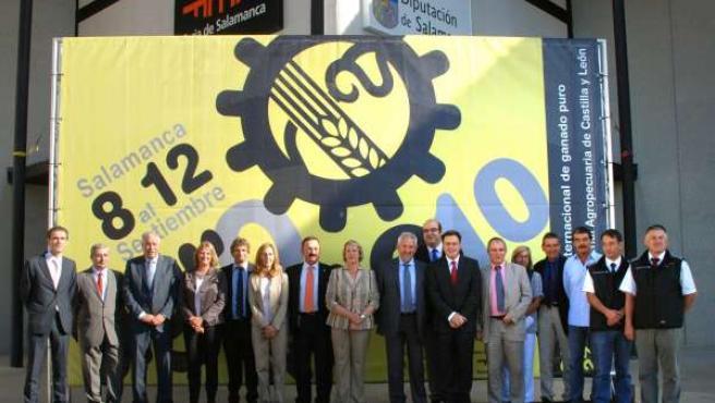 Delegación Del Salón De Agricultura De Burdeos En La Pasada Edición De Agromaq E