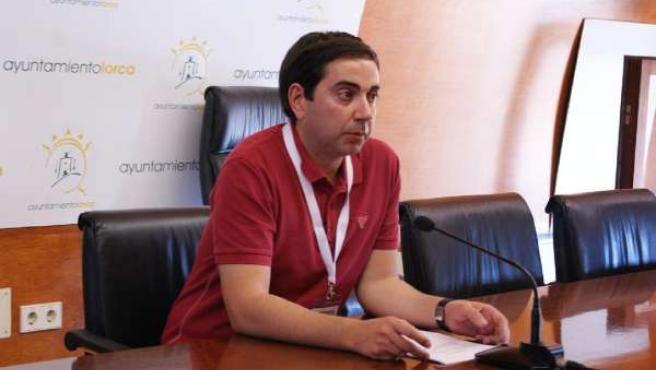 El Concejal De Urbanismo Del Ayuntamiento De Lorca, Francisco García