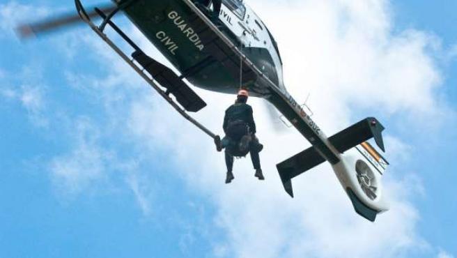 Imagen De Un Helicóptero De Rescate
