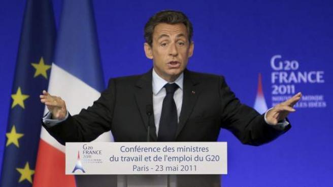 El presidente francés, Nicolas Sarkozy.