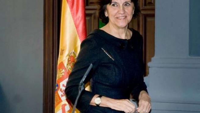 Emelina Fernández, presidenta del Consejo Audiovisual de Andalucía