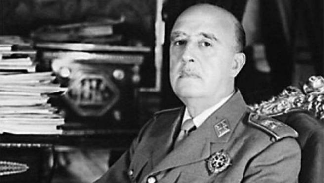 Retrato de Francisco Franco.