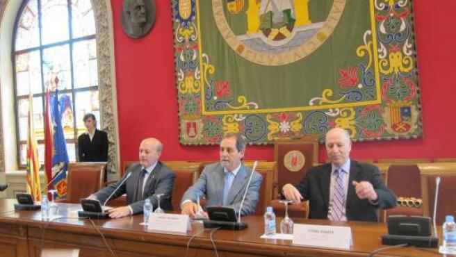 El Consejero De Ciencia, Tecnología Y Universidad De La DGA, Javier Velasco