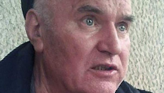 El exgeneral serbio Ratko Mladic.