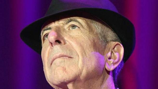 Fotografía de archivo, del 21 de septiembre de 2009, del poeta y cantautor canadiense Leonard Cohen.