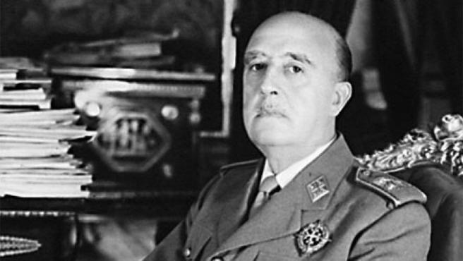 El dictador Francisco Franco.