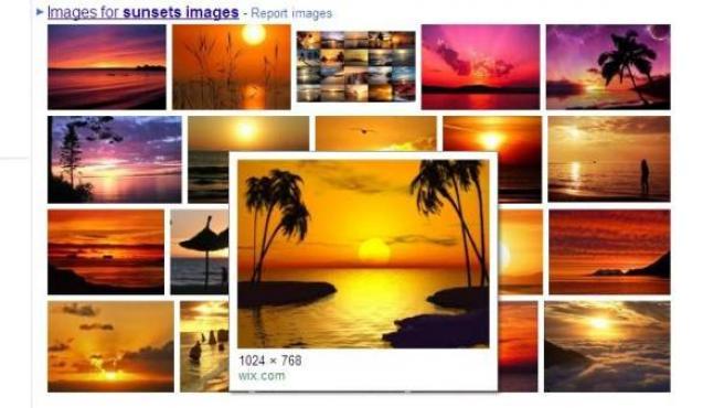 Las imágenes ganan protagonismo en el buscador principal de Google.