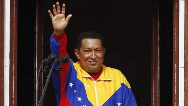 Imagen de archivo del presidente venezolano, Hugo Chávez, que ha sido intervenido quirúgicamente en Cuba.