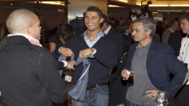 Pepe, Cristiano Ronaldo y Mourinho están representados por Jorge Mendes.