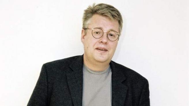 Una foto del escritor y periodista ya fallecido Stieg Larsson.