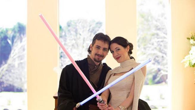 Galería: celebra tu boda en una galaxia muy, muy lejana