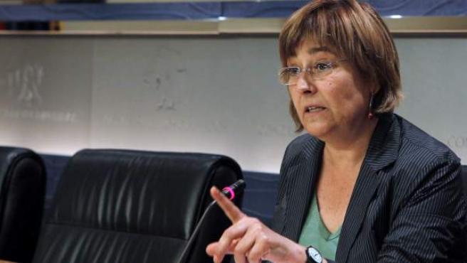 La diputada de ICV Nuria Buenaventura