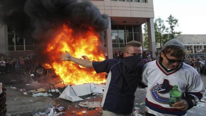 Incidentes en Vancouver.
