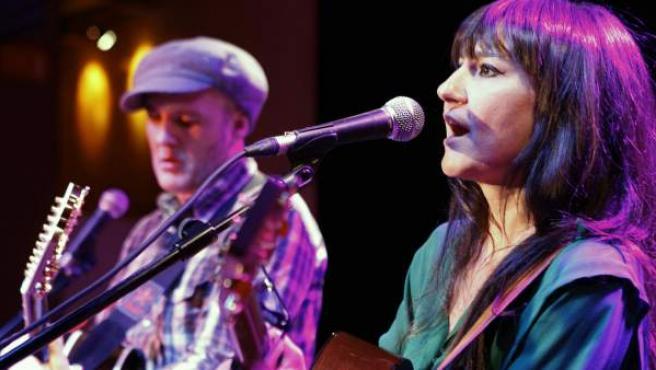 Juan Aguirre y Eva Amaral, componentes del dueto Amaral.