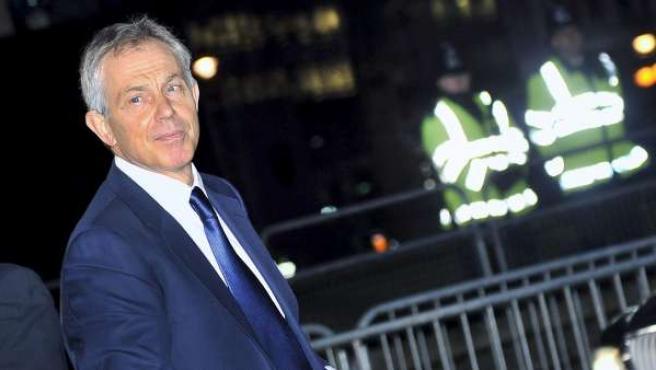 El exprimer ministro de Reino Unido, Tony Blair, en una imagen de archivo.