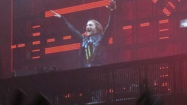 David Guetta En Su Concierto De Valencia
