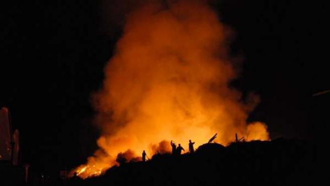 Incendio En El Matorral