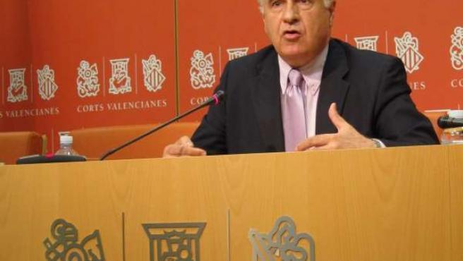 El Portavoz Del PP En Las Corts, Rafael Blasco