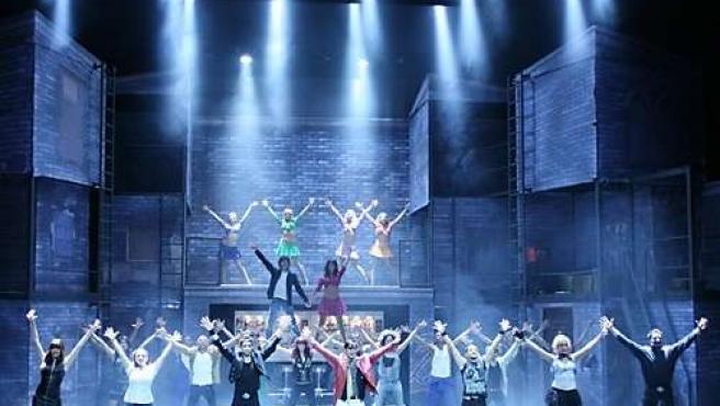 Imagen Del Musical 'Hoy No Me Puedo Levantar'.