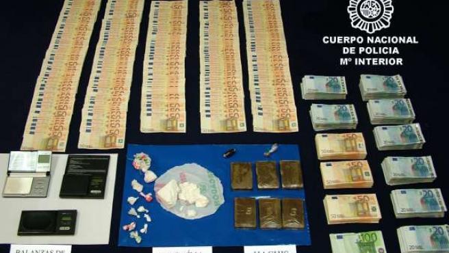 Droga Incautada Durante La Operación De Desmantelamiento
