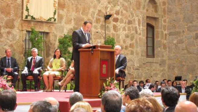 Toma De Posesión De Pedro Sanz Como Presidente De La Comunidad De La Rioja