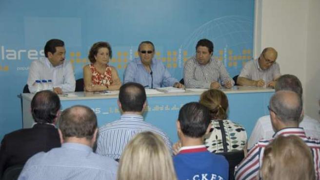 Reunión Del Comité Ejecutivo Del PP De Castellón.