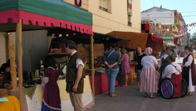 Mercado Medieval De La Conmemoración Del Compromiso De Caspe