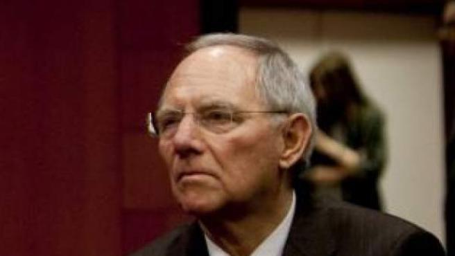 El ministro de finanzas alemán, Wolfgang Schäuble.