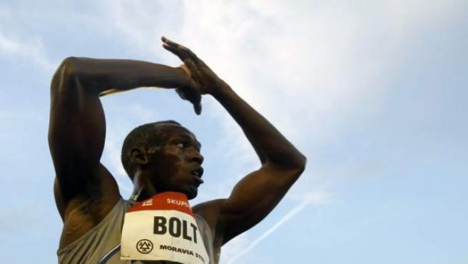Usain Bolt, en Ostrava.