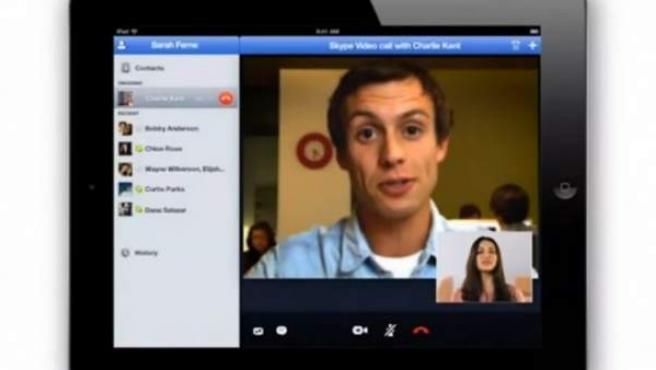 Skype para iPad.