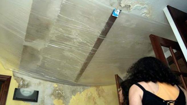 De no actuar a tiempo la humedad puede arruinar una vivienda.