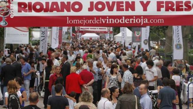 Edición De 2010 De 'Riojano, Joven Y Fresco' En Santander