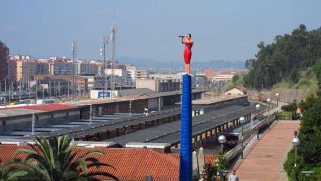 Estación De Renfe En Santander