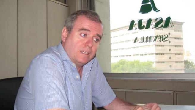 El Secretario General De Asaja Sevilla, Eduardo Martín