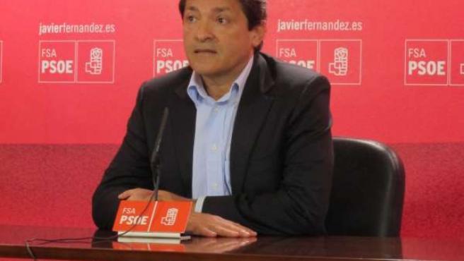 Javier Fernández En Rueda De Prensa.