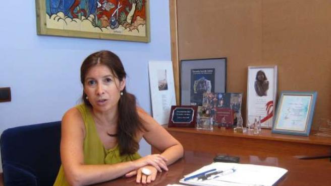 La Edil Del Distrito Centro Del Ayuntamiento De Málaga, Gemma Del Corral