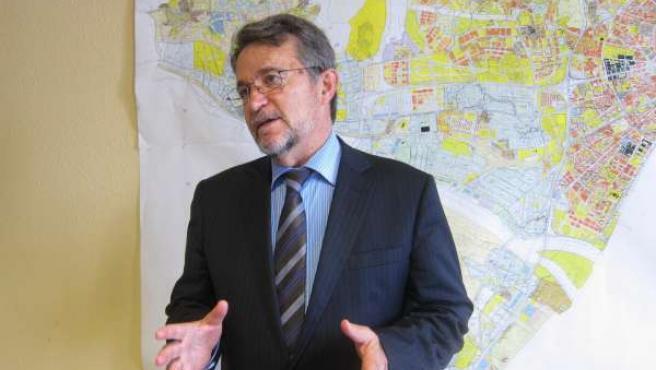 El Delegado De Ordenación Del Territorio Y Vivienda, Diego Maldonado