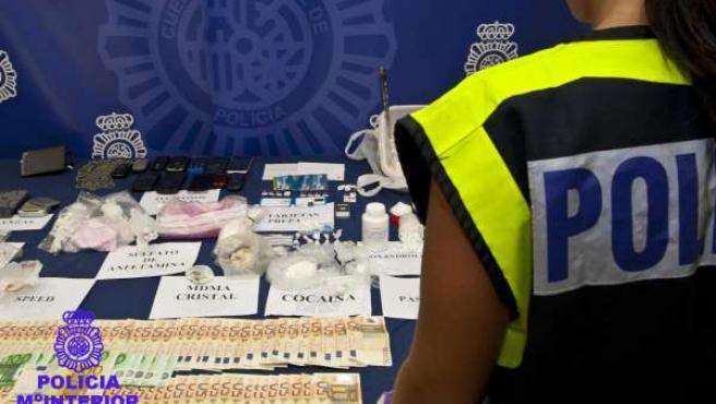 Droga Incautada En Navarra Por La Policía Nacional.
