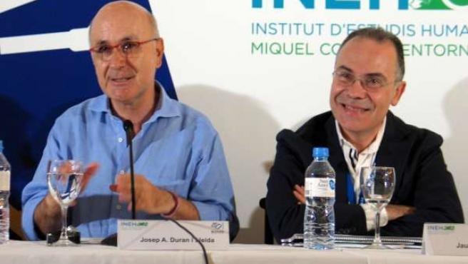Josep A. Duran Y Jaume Torramadé (UDC)