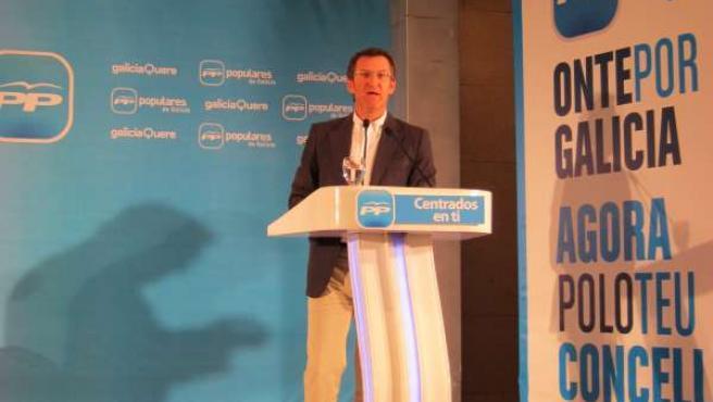 El Líder De Los Populares De Galicia, Alberto Núñez Feijóo