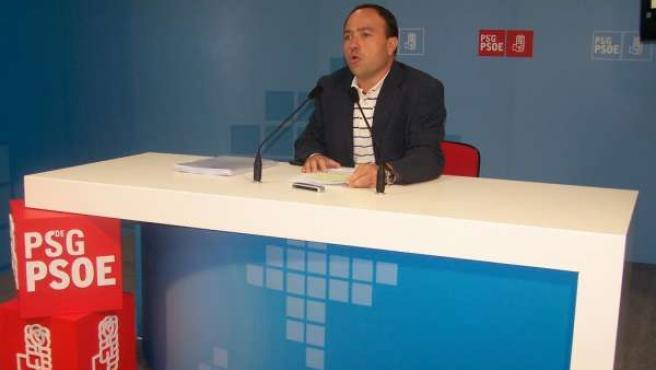 Miguel Ángel Fernández, secretario de Sanidade del PSdeG