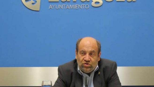 José Manuel Alonso, Portavoz IU En El Ayuntamiento De Zaragoza