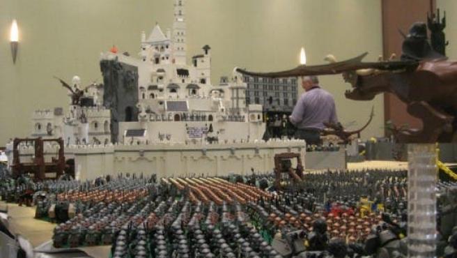 Galería: La Tierra Media construida con Lego