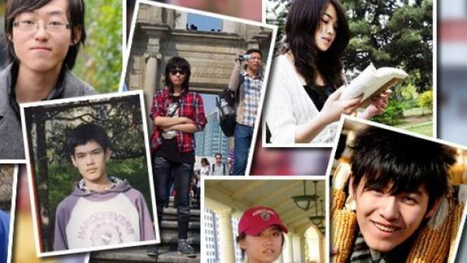 Estudiantes universitarios chinos protagonistas de un documental ('The Next Generation') que compara las vidas de los que son homosexuales con los heterosexuales.