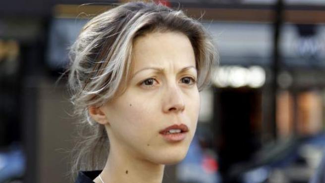 La periodista francesa Tristane Banon.
