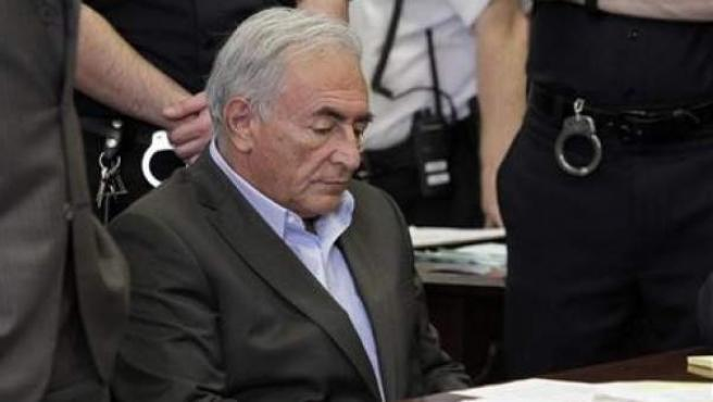 Strauss-Kahn, durante una vista en Nueva York