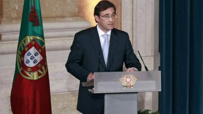 El primer ministro portugués, Pedro Passos Coelho.
