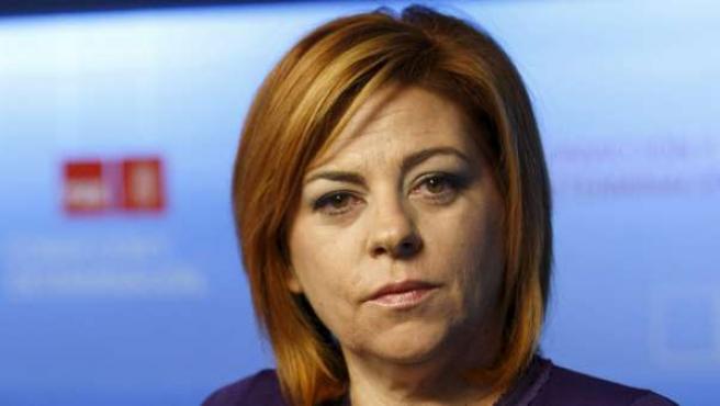 La vicecoordinadora y portavoz electoral del PSOE, Elena Valenciano.