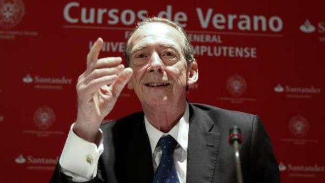 El director de la Real Academia Española (RAE), José Manuel Blecua.